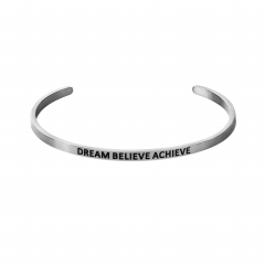 "Браслет MY MANTRA ""DREAM BELIEVE ACHIEVE"" (фото 1)"